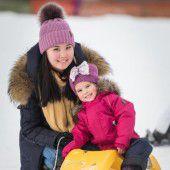Wintersportfreuden auf der weißen Schatzinsel