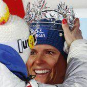 Zuzulova ist die Schneekönigin