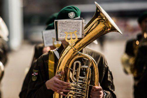 """Die Besucher des heutigen Konzerts der Militärmusik Vorarlberg dürfen gespannt sein auf den zweiten Teil unter dem Titel """"Eskapaden – eine Militärmusik auf Abwegen"""".vn/steurer"""
