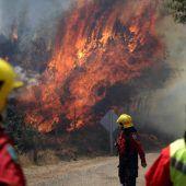 Waldbrände in Chile breiten sich weiter aus