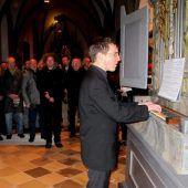 Die älteste der spielbaren Orgeln des Landes Vorarlberg stammt von 1699