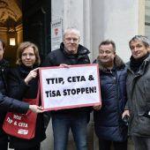 Spar und Co gegen TTIP