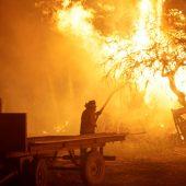 Chile bekommt Brände langsam in den Griff