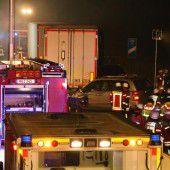 Sechs junge Menschen sterben bei Massenkarambolage im Allgäu