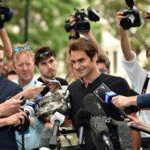 Rückkehr in die Top Ten von Roger Federer