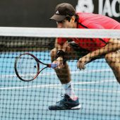 Frühes Aus für Oswald bei den Australian Open