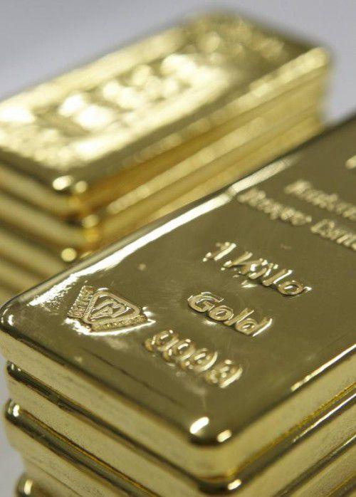 Gold gilt in turbulenten Zeiten als sicherer Hafen. Foto: Reuters