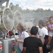 Sydney schwitzt bei 40 Grad