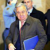 UN-Chef Guterres hofft auf einen Durchbruch