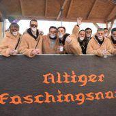 Faschingsnarren ziehen am Sonntag durch Altach