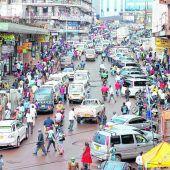 Chaotisches Kampala