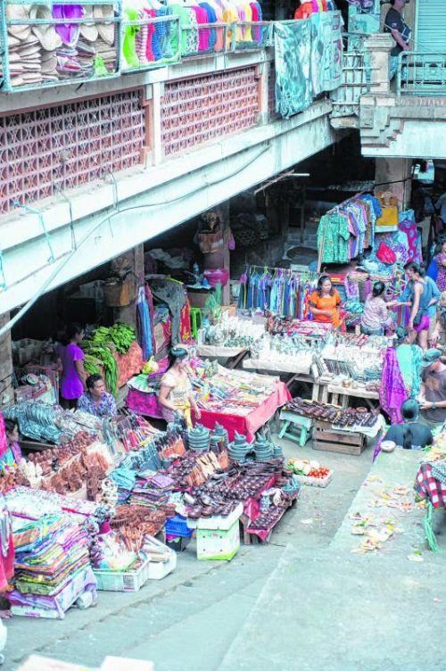 In Ubud findet man zahlreiche der typischen Märkte.