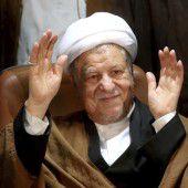 Irans Ex-Präsident starb nach  Herzinfarkt