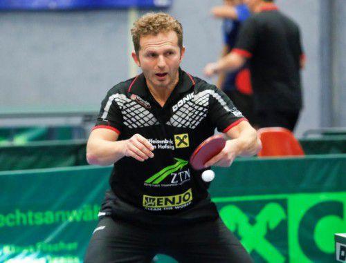 Istvan Toth setzte mit fünf Titeln die Maßstäbe.Paulitsch