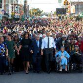 Emotionaler Abschied des Obama-Teams