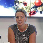 Petra Kvitova auf dem Weg der Besserung