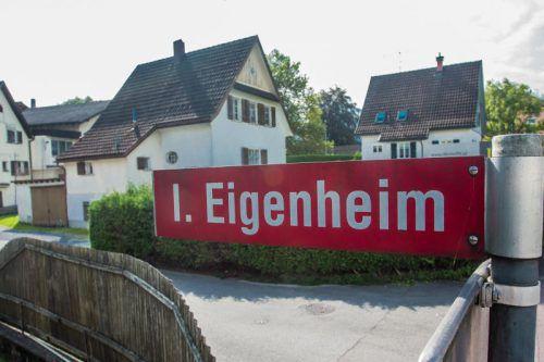 Die Vorarlberger mussten 2020 für eine Eigentumswohnung durchschnittlich 332.600 Euro bezahlen, für ein Einfamilienhaus im Schnitt 526.342 Euro. vn/Steurer