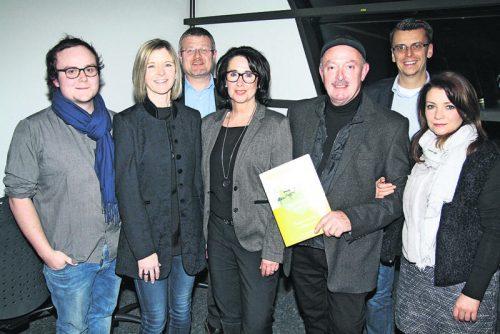 Lukas Böhler, Kerstin Fischer, Markus Böhler, Angelika Fertschnig, Josef Böhler, Christian Breuß und Lena Böhler (v. l.). Fotos: Veranstalter