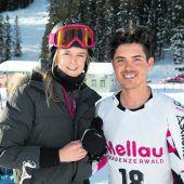 Marcel Mathis im Slalom Fünfter