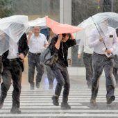 Japan rüstet sich gegen Todesgefahr Sintflut