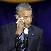 Obama verabschiedet sich von der politischen Bühne