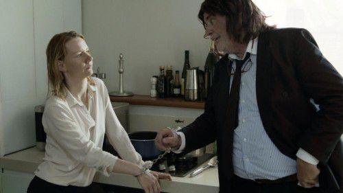"""Peter Simonischek und Sandra Huller im für einen Golden Globe nominierten Film """"Toni Erdmann"""". Foto: Sony Pictures"""