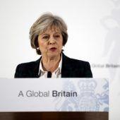 May strebt eine klare Trennung von der EU an