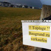 Baugrund in Vorarlberg immer teurer