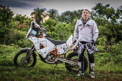 Steht vor seiner größten Herausforderung: Für Markus Berthold beginnt heute die Rallye Dakar.