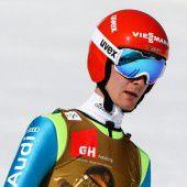 Vom Interviewer zum Skispringer