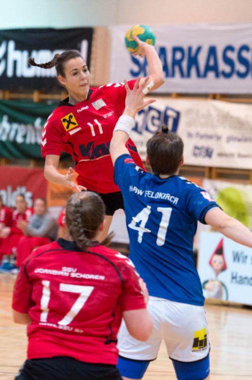 Fabienne Tomasini wechselt vom SSV Schoren zu Brühl St. Gallen. VN/DS