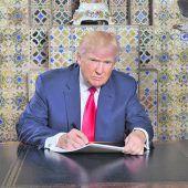 Trump übernimmt die Macht in Washington