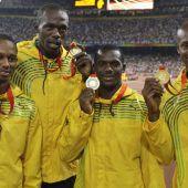 Bolt nur noch achtmaliger Olympiasieger