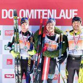 Sutter zeigte als Dritter beim Dolomitenlauf auf