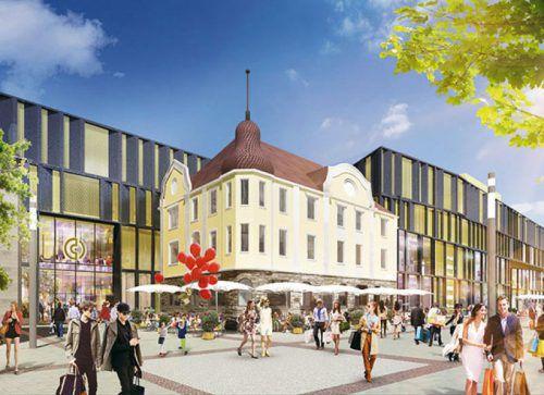 Im Juli wird mit den Arbeiten für die Shopping Mall in Singen begonnen.ECE
