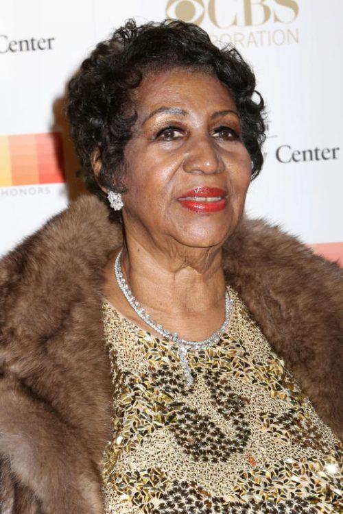 Aretha Franklin kündigt ihr letztes Album an. Foto: AP