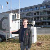 Start für Messung der Luftgüte in Feldkirch