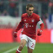 Bayern gewinnt, aber Lahm geht