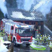 Feuer zerstört Tischlerei