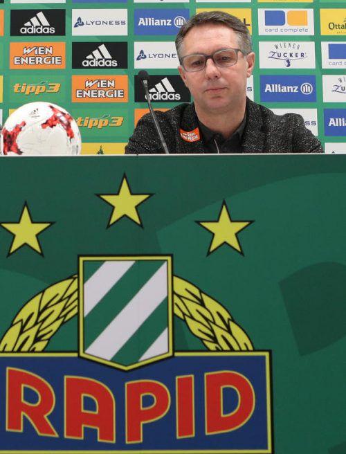 Damir Canadi (Bild) kann im Derby auf Schwab zurückgreifen. gepa