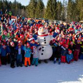 320 junge Rennläufer beim 5. Kids Race