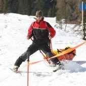 Drei Verletzte bei Kollision auf Skipiste