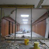 Umbau der Galerie Hollenstein gestartet