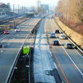 Flüsterbelag für Autobahn A 1