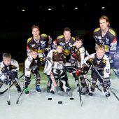 Eishockeyluft schnuppern