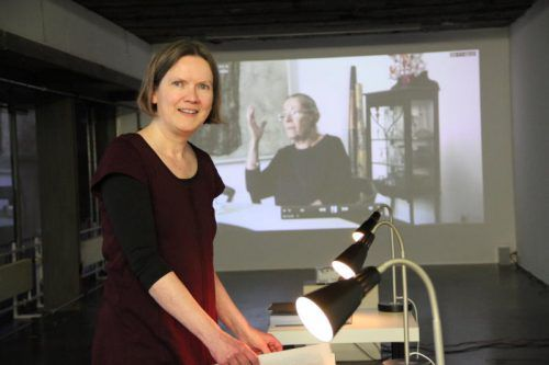 Die deutsche Künstlerin Sabine Bürger versteht ihre Arbeit als Archiv und als Angebot. Foto: AG