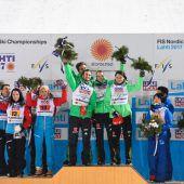 Mixed-Team freut sich über Silbermedaille