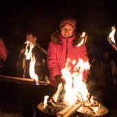 Eine Nacht wie bei den Eskimos