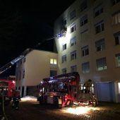 Toter bei Brand in Klinik
