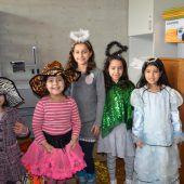 Buntes Faschingsfest der Flüchtlingshilfe
